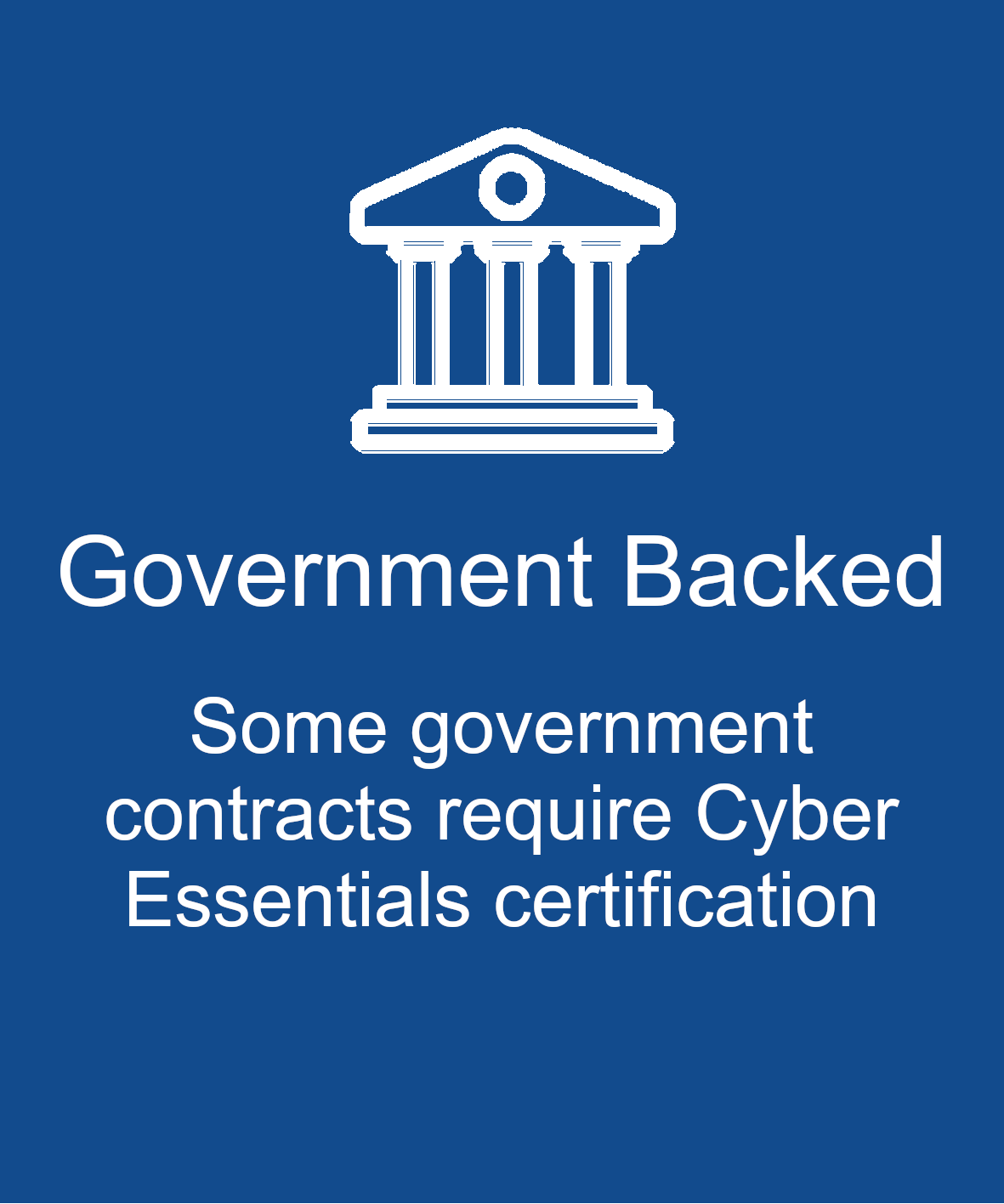 Government backed